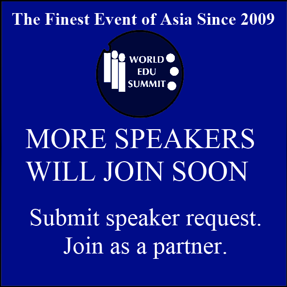More Speakers Will Join Soon